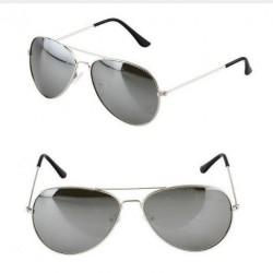 Sluneční brýle stříbrné