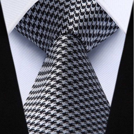 Prodloužená hedvábná kravata