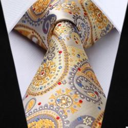 XXL hedvábná kravata