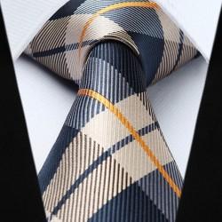 Prodloužené hedvábná kravata