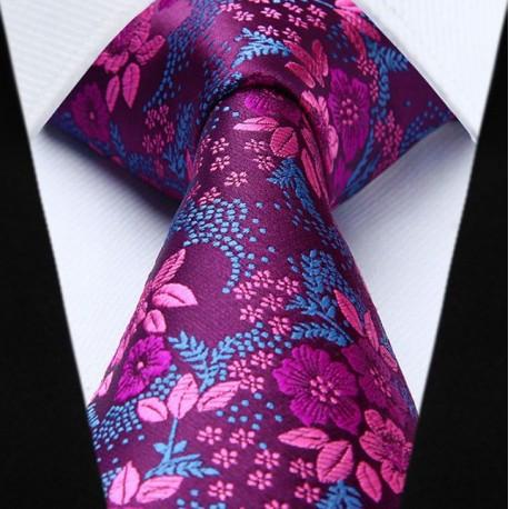 Extra dlouhá hedvábná kravata