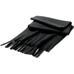 Fleecová šála černá