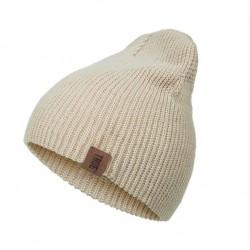 Bavlněná zimní čepice béžová