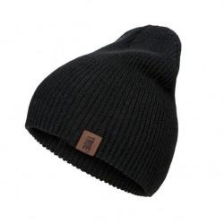 Bavlněná zimní čepice černá