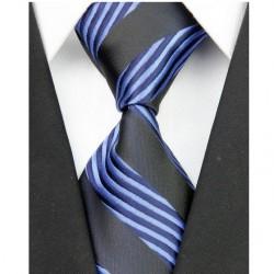 Hodvábna kravata modrá NT0003