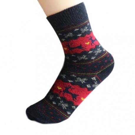 Dámské Vánoční ponožky modré