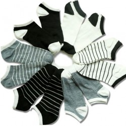 6 ks dámské kotníkové ponožky