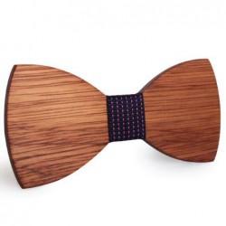 Mahoosive Dřevěný motýlek hnědý Brent