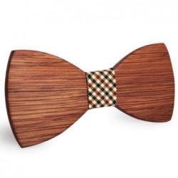 Mahoosive Dřevěný motýlek hnědý Bryden