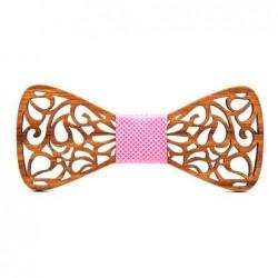 Dřevěný vyřezávaný motýlek