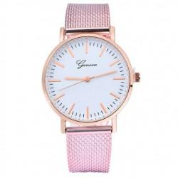 Dámské hodinky Geneva růžové