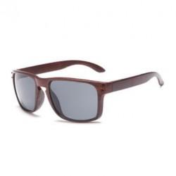 Sportovní sluneční brýle dřevěné černé
