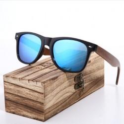 Dřevěné sluneční brýle Barcur