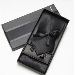 Kravatový dárkový set černý