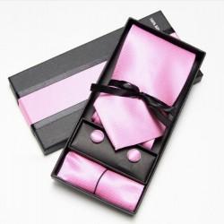 Kravatový dárkový set růžový