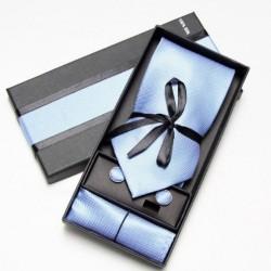 Kravatový dárkový set modrý