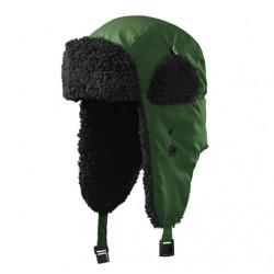 Beranice zimní čepice ušanka zelená