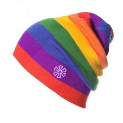 Moderní zimní pletená čepice