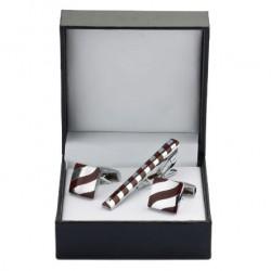 Dárkový set manžetové knoflíčky a kravatová spona