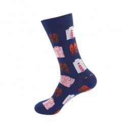 Pánské veselé ponožky košile