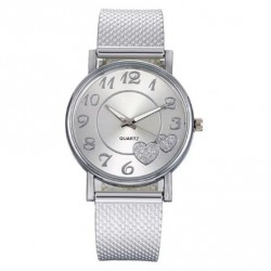 Dámské hodinky Quartz stíbrné