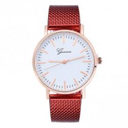 Dámské hodinky Geneva červené