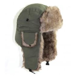 Beranice zimní čepice ušanka