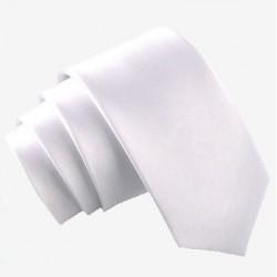 Úzká SLIM kravata světle šedá