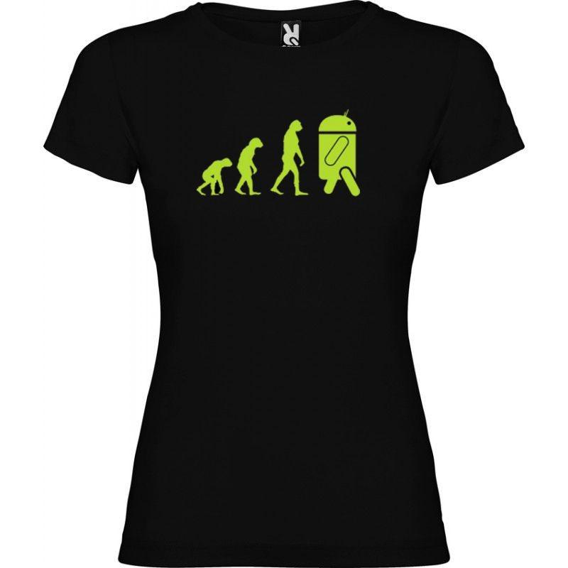 987d4b6665b Tričko Android evolution dámské - Wemay