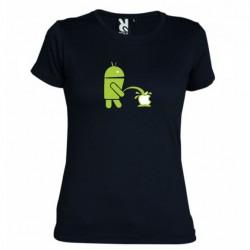 Tričko Android vs Apple dámské