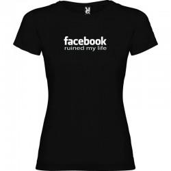 Tričko Facebook ruined my life dámské
